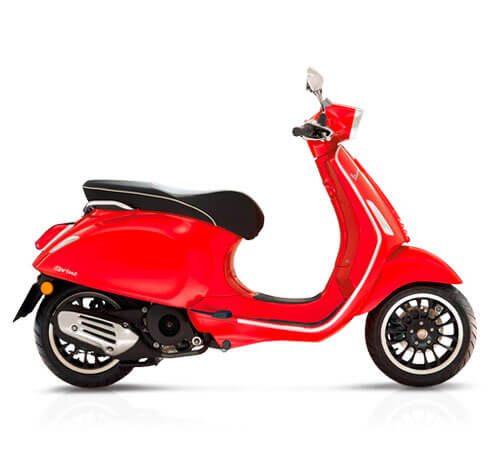 Vespa Sprint 125 Red